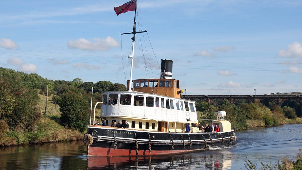 The Daniel Adamson ship