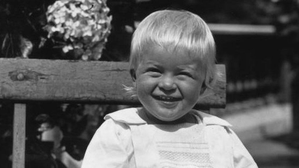 Prince Philip age one