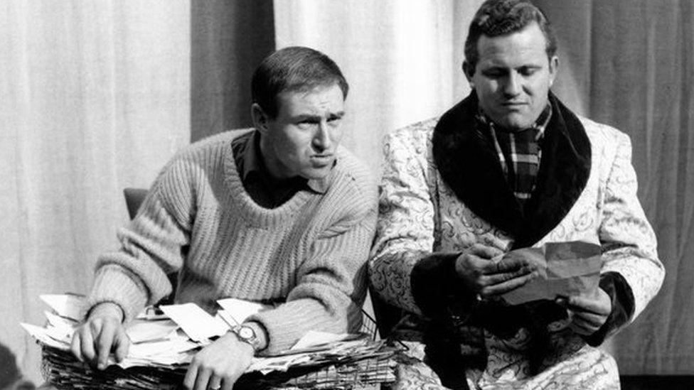 Bill Maynard and Terry Scott