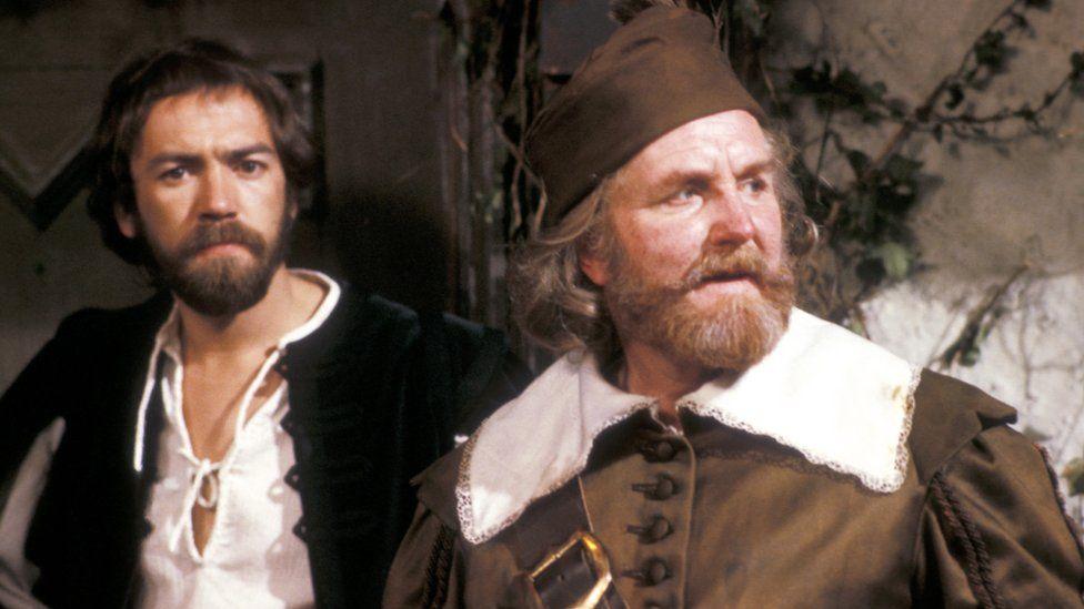 Robert Hardy with Robert Lindsay in Twelfth Night