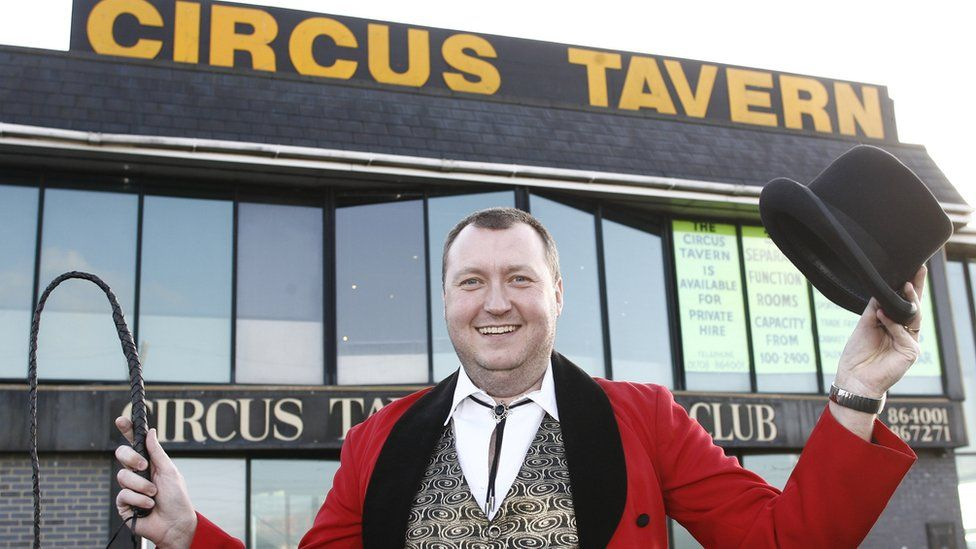 Wayne Mardle at Circus Tavern