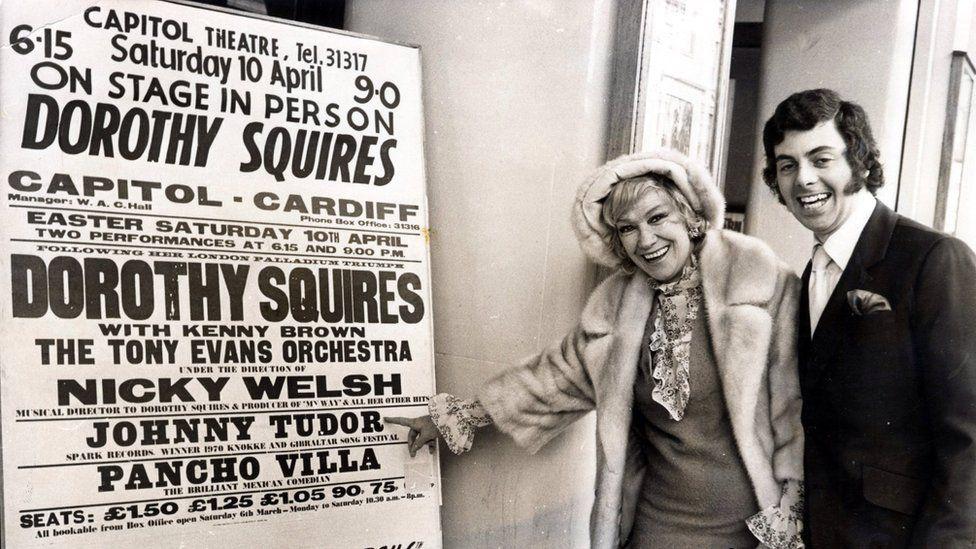 Dorothy Squires a Johnny Tudor