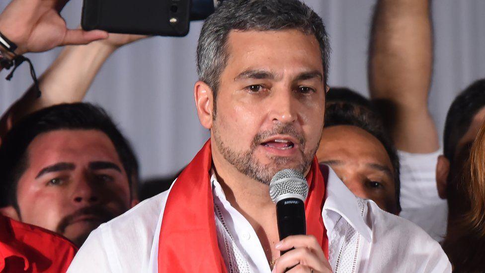 Paraguay's president-elect, Mario Abdo Benítez