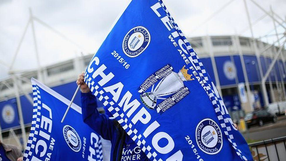 Leicester City champions
