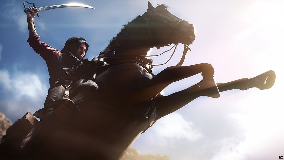Footage from the Battlefield Trailer