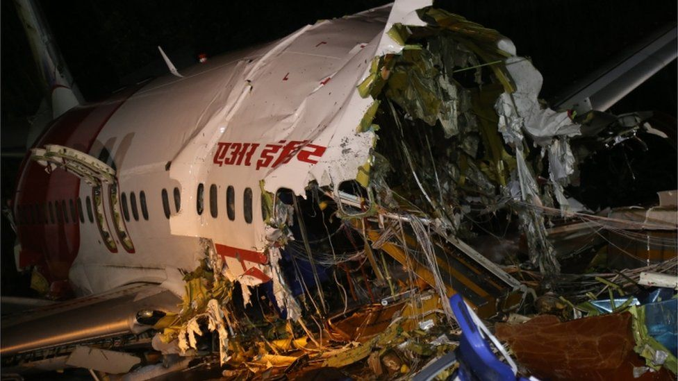 India Air Crash Survivor Recounts Final Minutes In Plane Bbc News