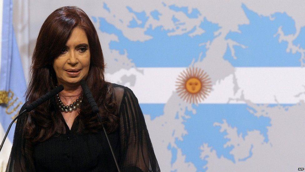 President Cristina Fernandez de Kirchner, February 2012