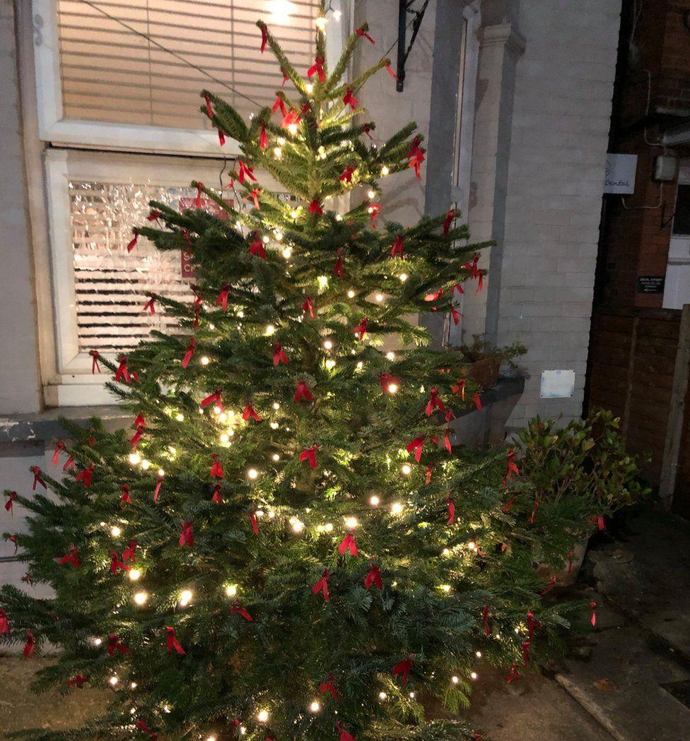 Condom Christmas tree