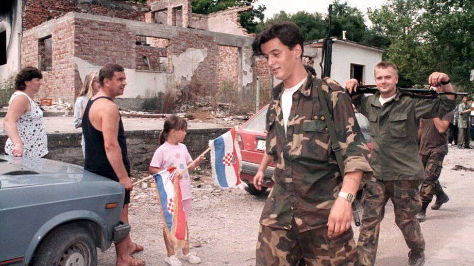 Хорватські військові