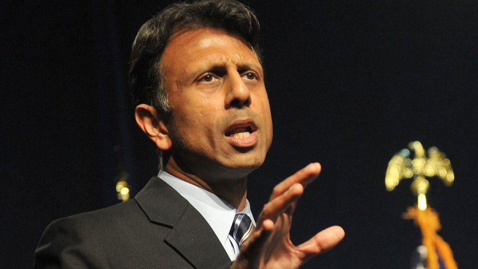 Republican presidential candidate Bobby Jindal.