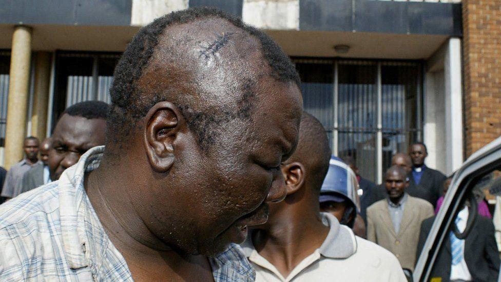Mr Tsvangirai was badly beaten in custody in 2007