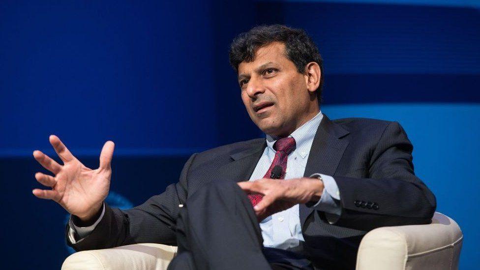 Raghuram Rajan, former governor of the Reserve Bank of India.