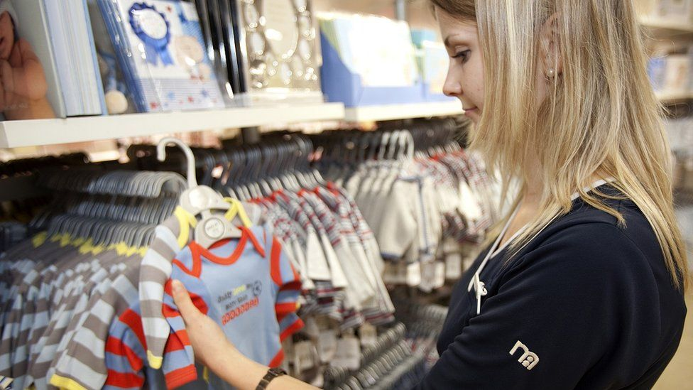Mothercare worker