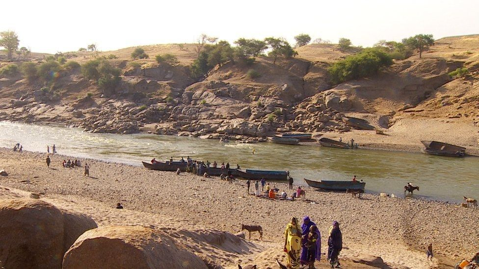 River Sittet, which marks the border between Ethiopia and Sudan