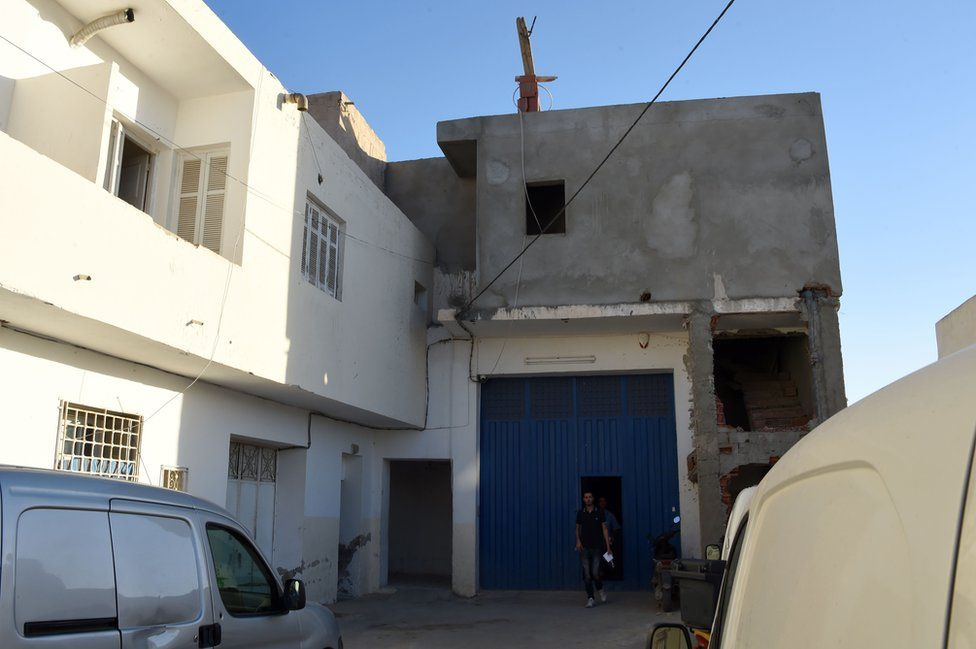 Lahouaiej-Bouhlel family home in Msaken, Tunisia