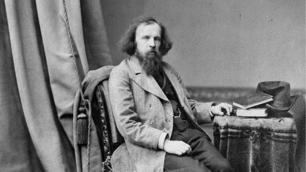 Russian chemist and inventor Dmitri Mendeleev