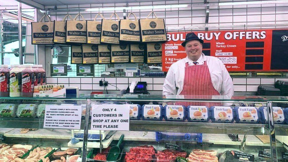 Mark Healey of Walter Smith Butchers