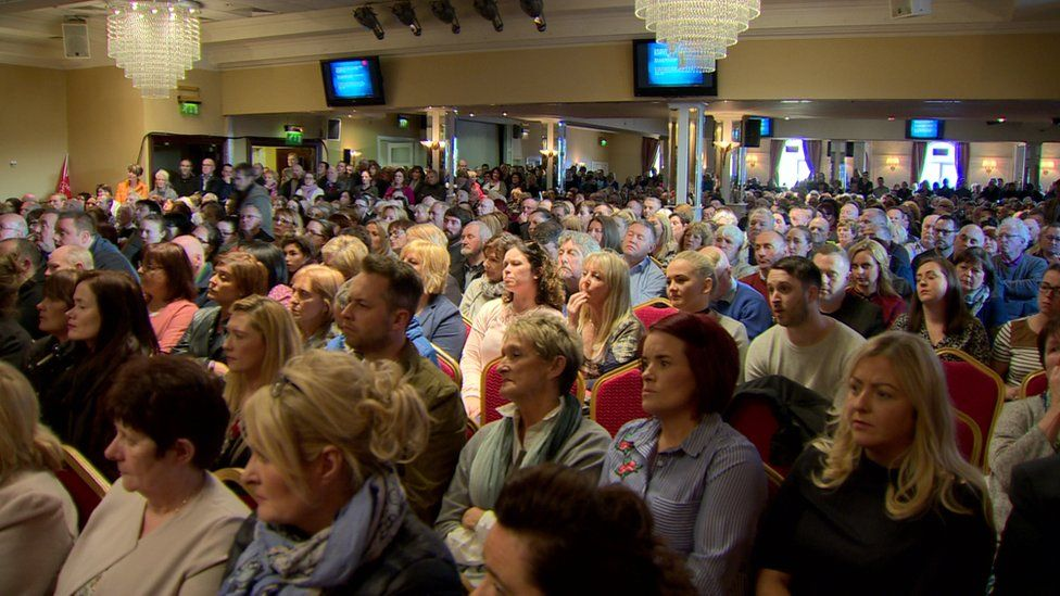 Hundreds of people showed up to hear protesters and politicians discuss plans to save Newry's 24-hour ED