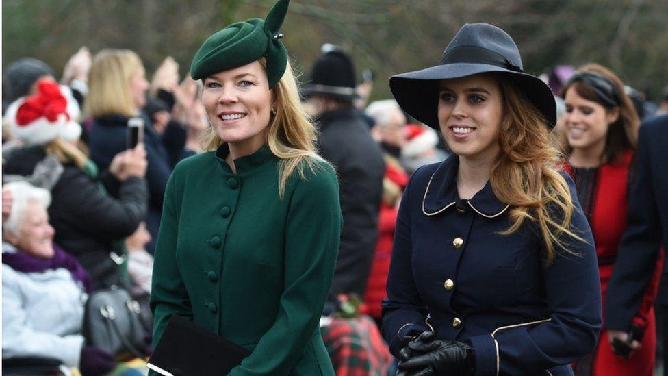 Autumn Phillips and Princess Beatrice