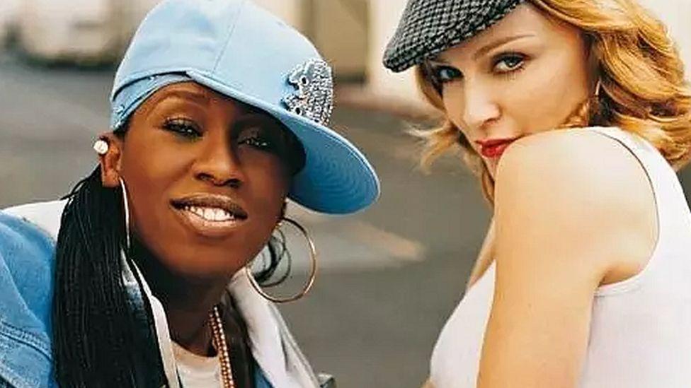 Missy Elliott and Madonna