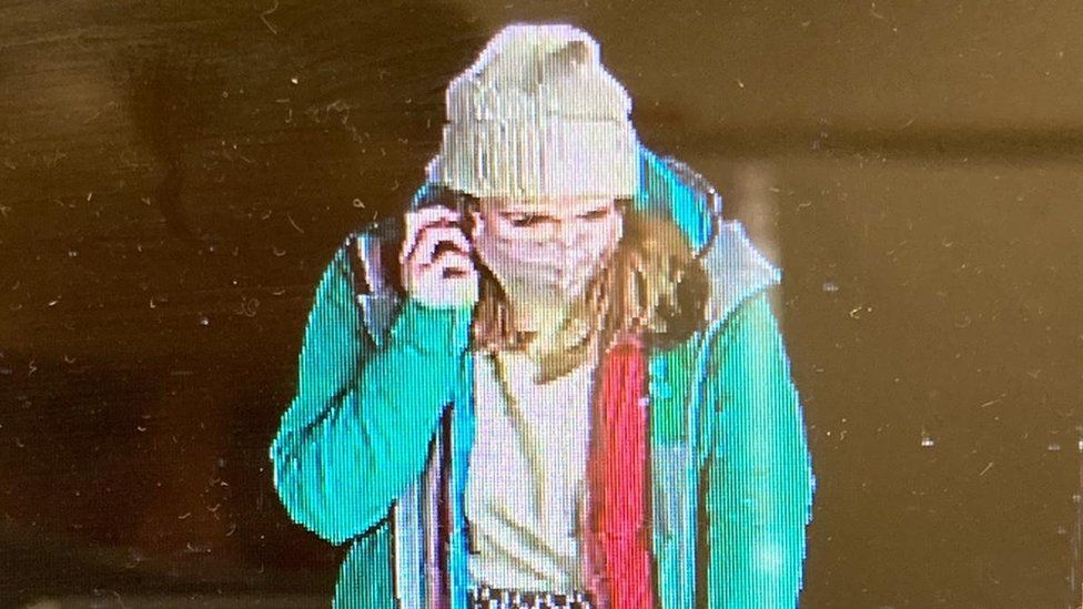 Sarah Everard seen on CCTV on the night she went missing