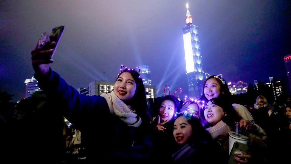 Año Nuevo en Taipéi, Taiwán