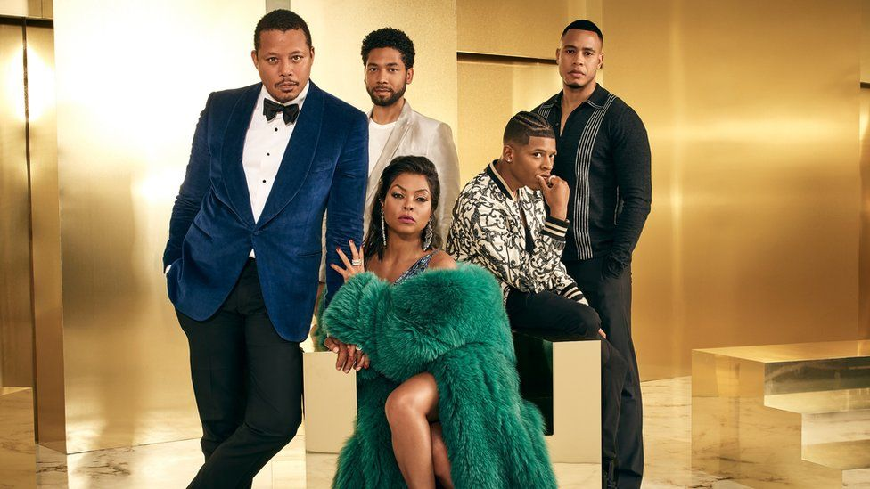The cast of Empire