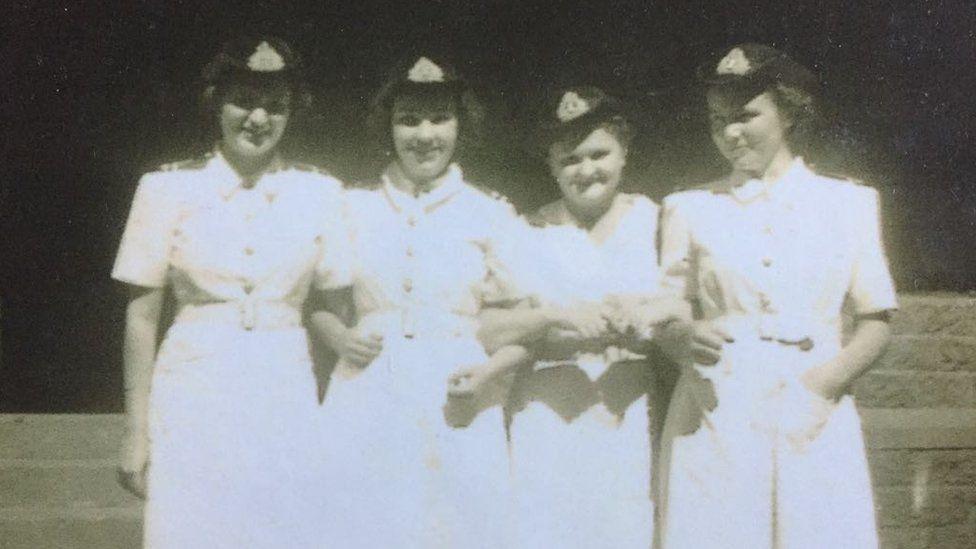 Anne Puckridge served in World War Two