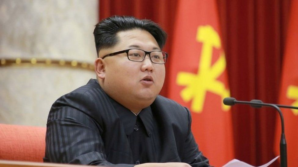 North Korean leader Kim Jong-un (28 December 2015)