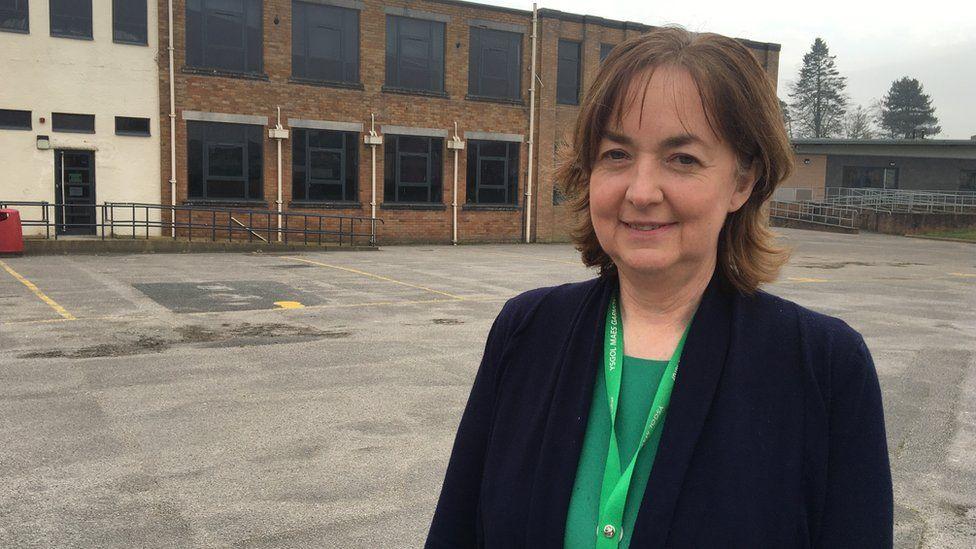Bronwen Hughes, headteacher of Ysgol Maes Garmon, in Mold