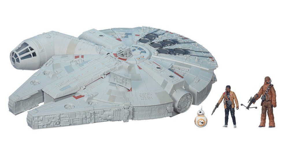Undated handout picture of Star Wars The Force Awakens Millennium Falcon from Hasbro. It is on the Toy Retailers Association (TRA) annual DreamToys list of predicted top sellers.