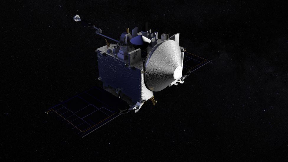 Artwork of probe
