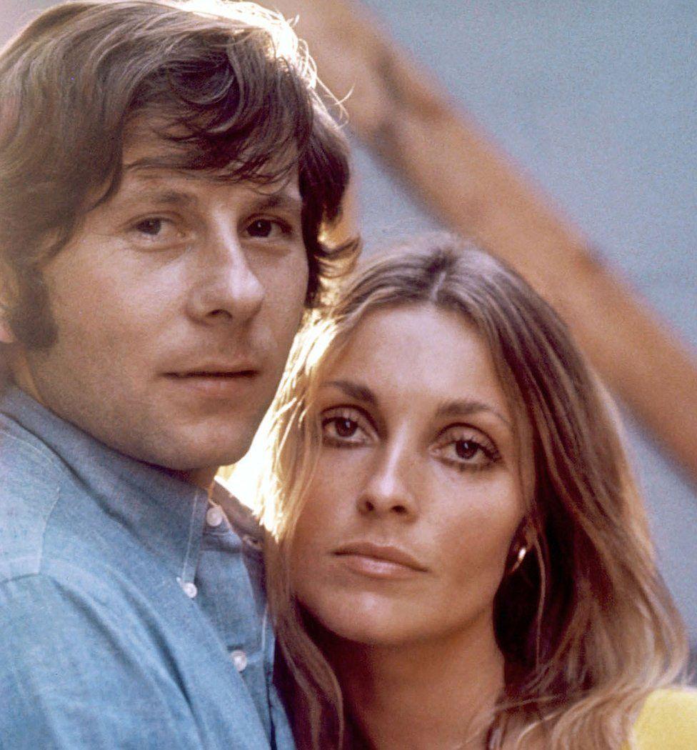 Actress Sharon Tate and her husband Roman Polanski