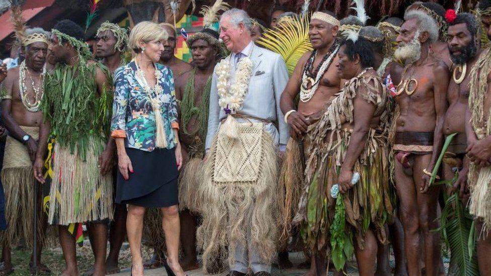 Australian Foreign Minister Julie Bishop and Prince Charles visit Vanuatu on Saturday