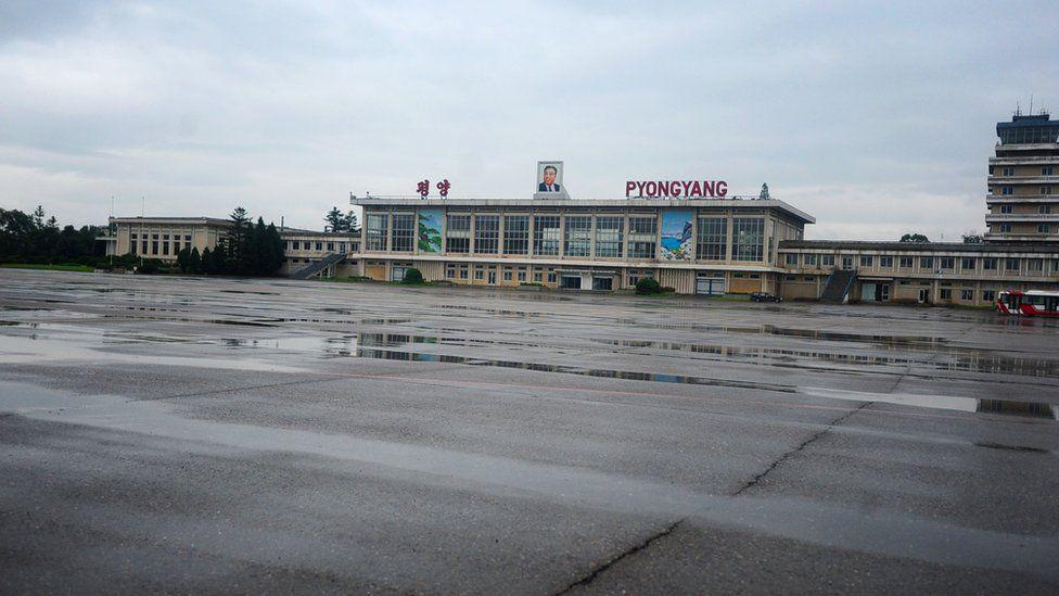 El aeropuerto internacional de Pyongyang