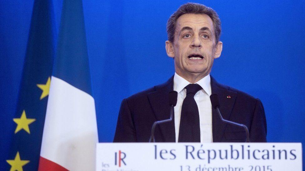 Nicolas Sarkozy, 13 Dec