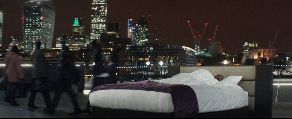 Premier Inn London advert