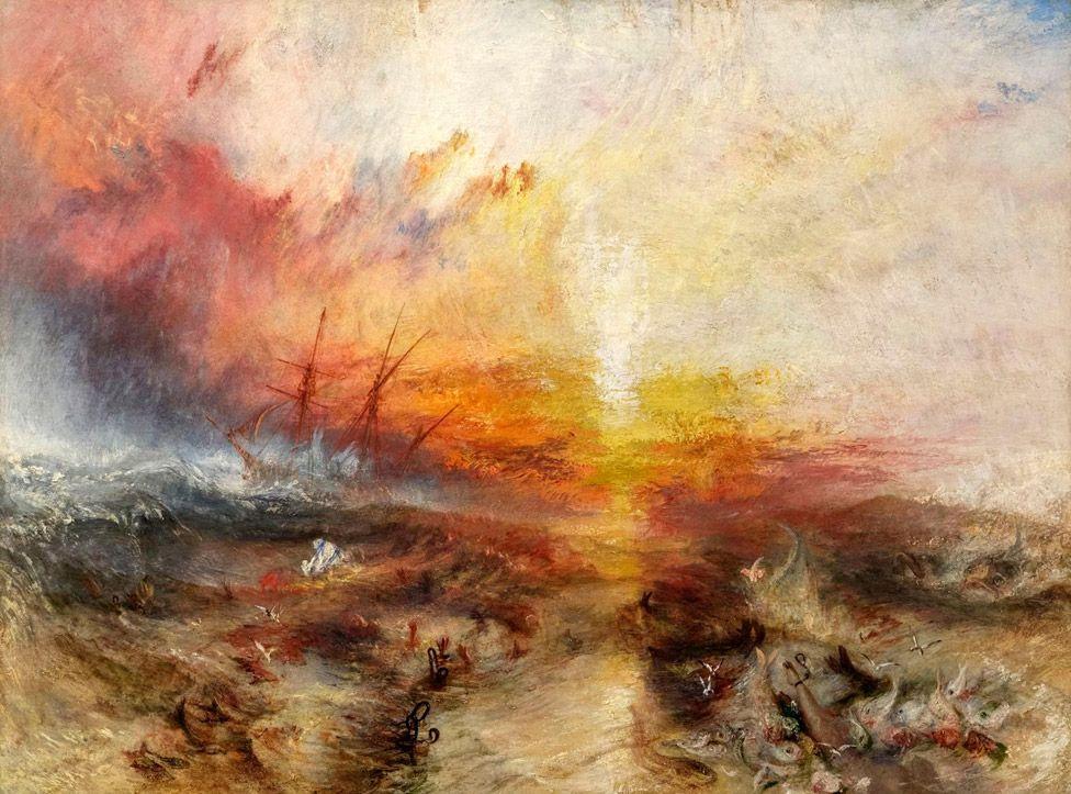 JMW Turner's Slave Ship (1840)