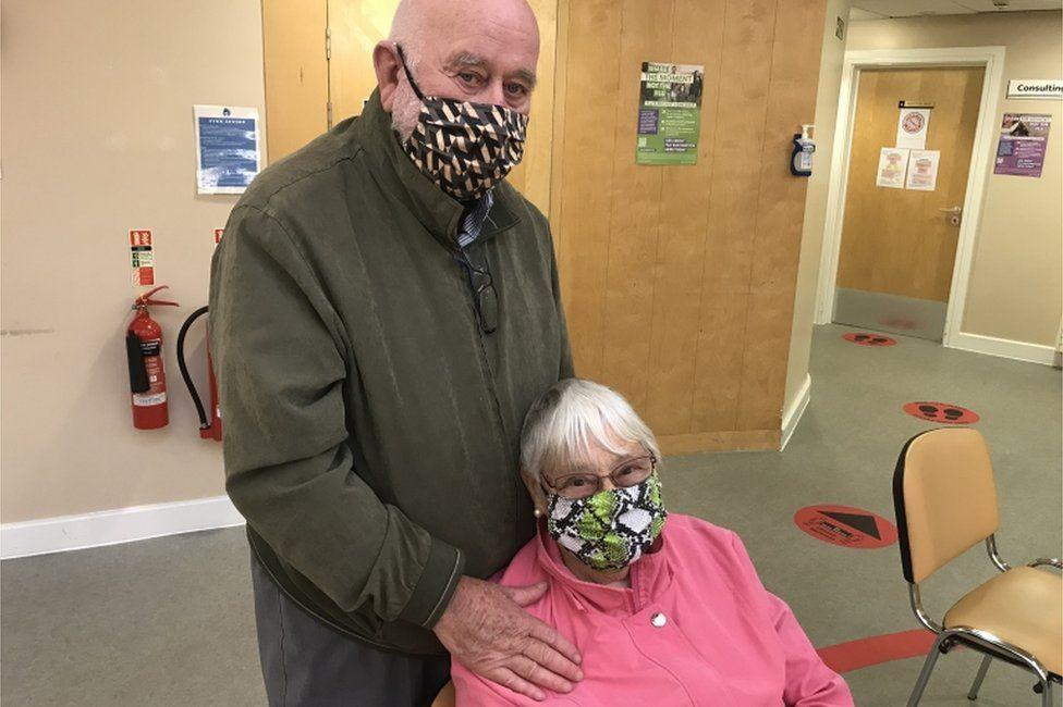 Hector Graham with wife Ishbel