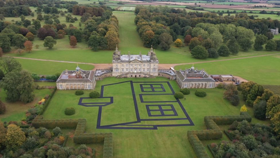 Norfolk stately home Houghton Hall provides canvas for artist Richard Woods
