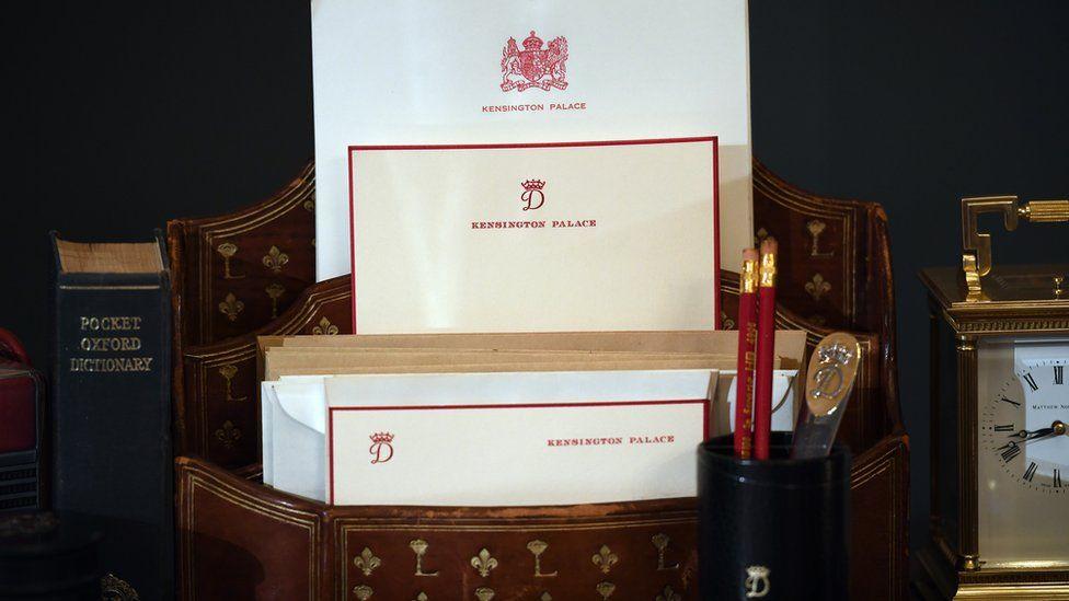 Kensington Palace letterhead paper