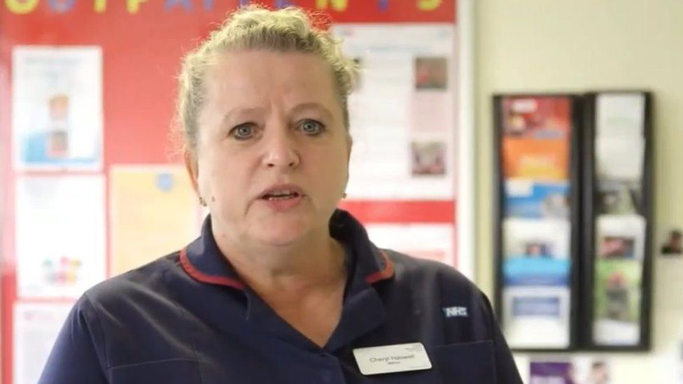 Cheryl Haswell, matron for Lydney and Dilke Hospitals