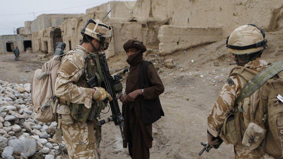 UK troops in Helmand providence in 2009