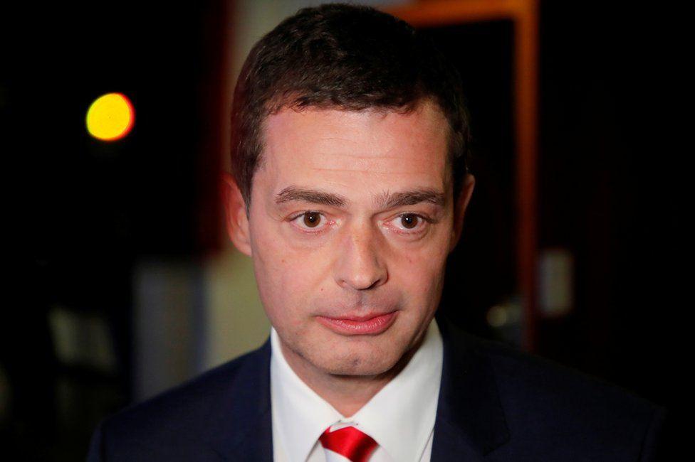 Mike Mohring in Erfurt, 27 October