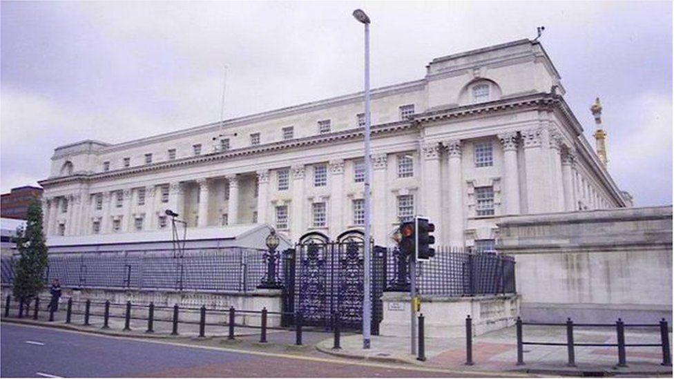 Court buildings in Belfast