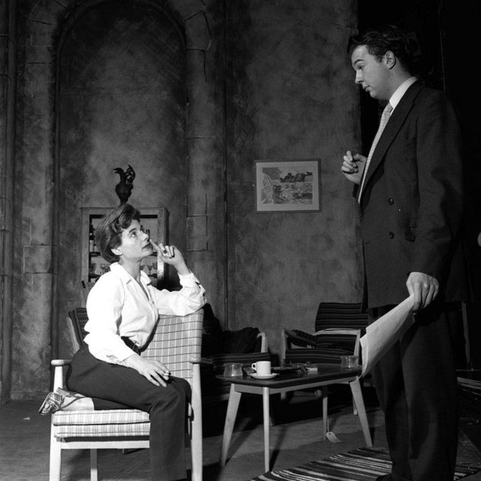 Hall directs Yvonne Mitchell at the London Arts Theatre