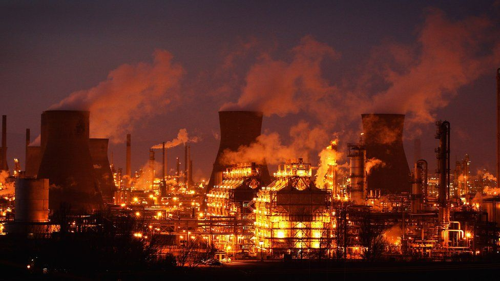Ineos Grangemouth petrochemicals plant