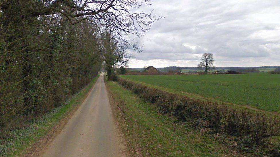 Barns as seen from road