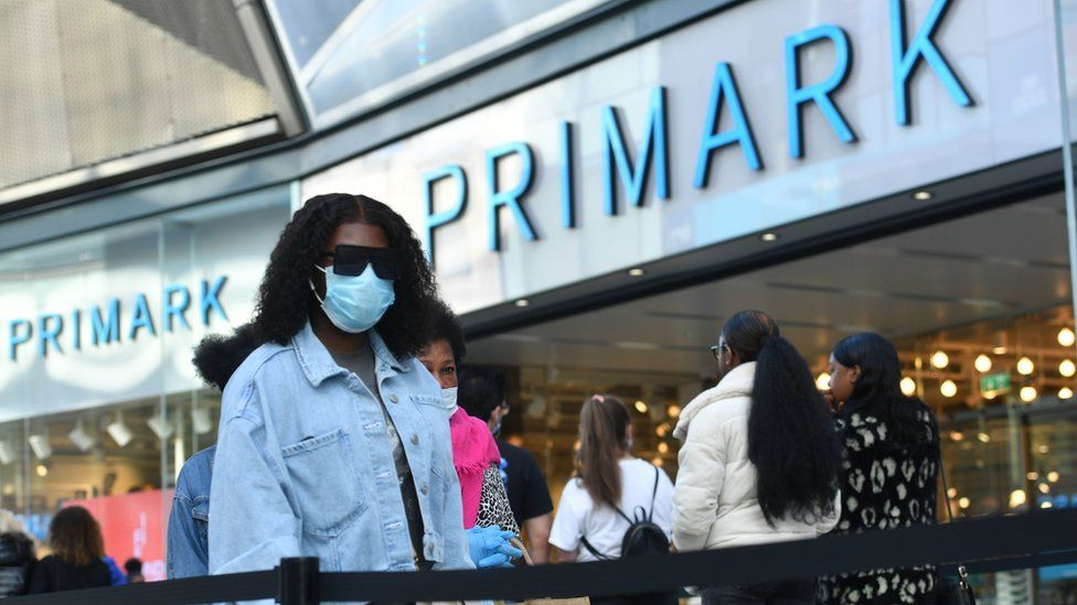 Primark sees sales surge as lockdown relaxed thumbnail