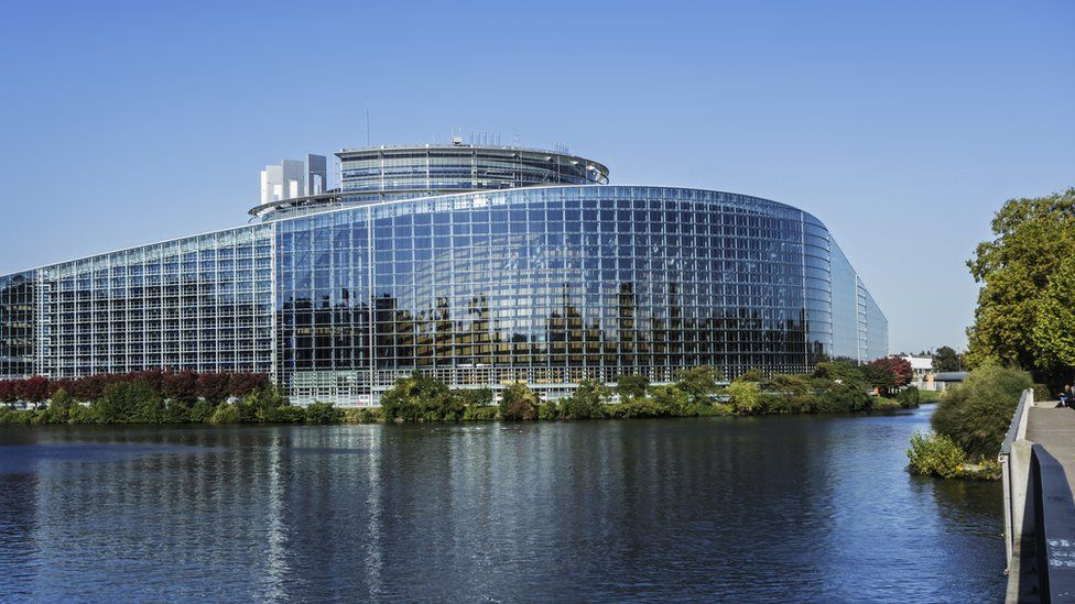 Photo of the European Parliament building